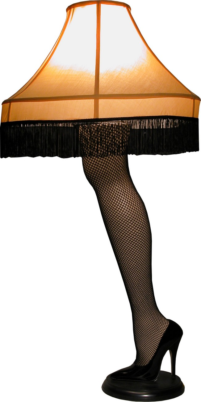 a christmas story prop replica leg lamp - Leg Lamp From The Christmas Story