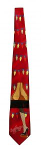 A Christmas Story – Necktie – Leg Lamp and String Lights