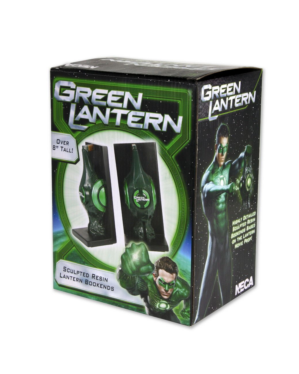 Green Lantern Movie Sculpted Bookends Lantern | NECAOnline.com