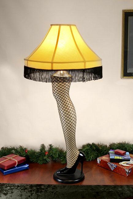 A Christmas Story U2013 Prop Replica U2013 Leg Lamp. PrevNext