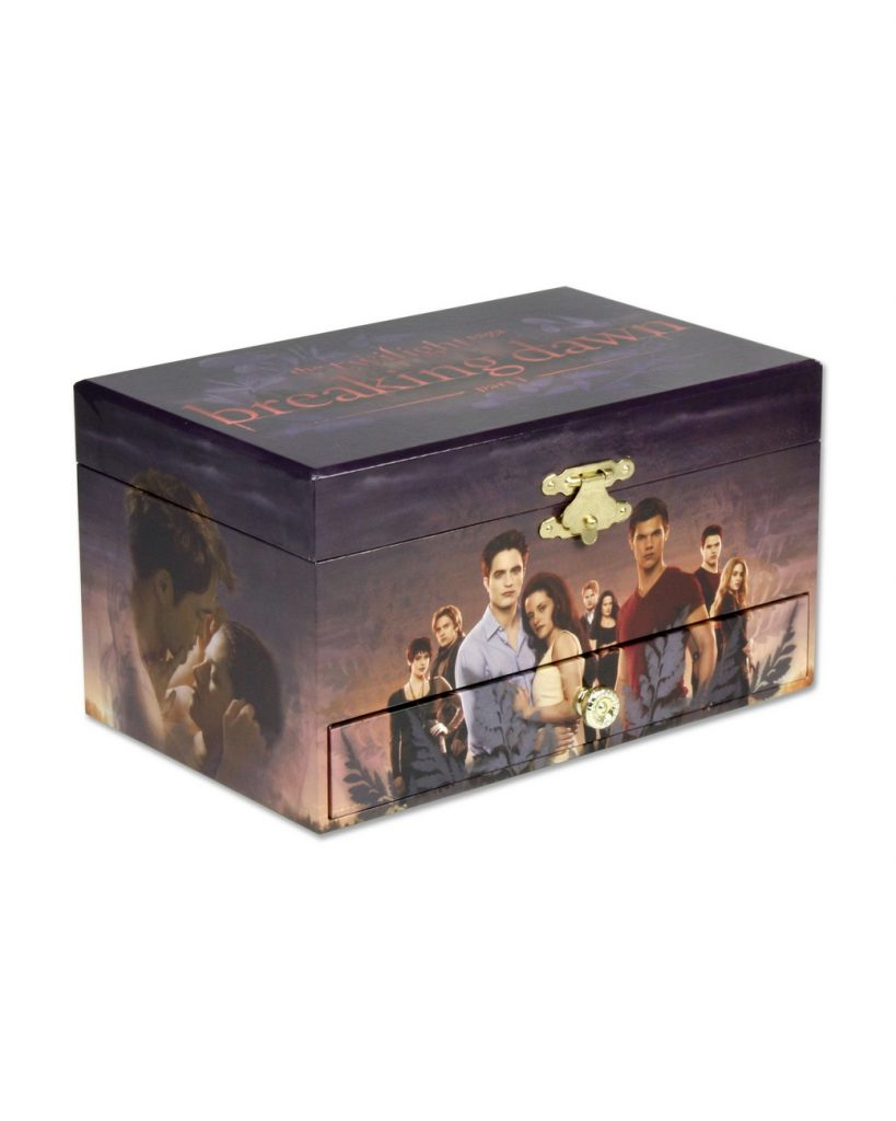 Twilight Breaking Dawn Musical Jewelry Box NECAOnlinecom