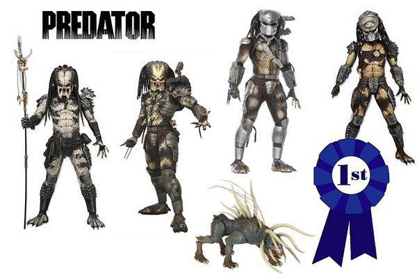 #1NECA - Predator Series