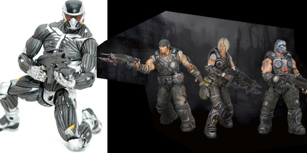 Gears of War 3 and Crysis 2 Nanosuit