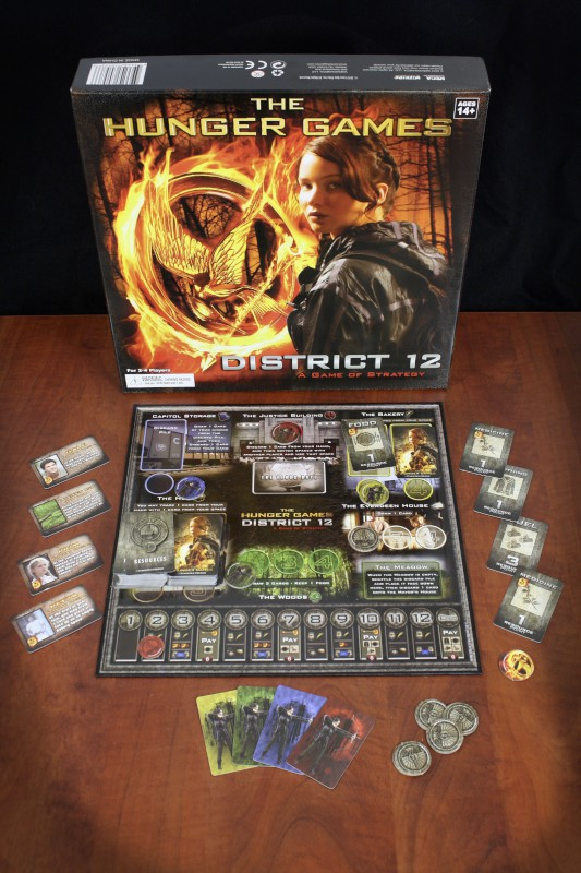 the hunger games board game