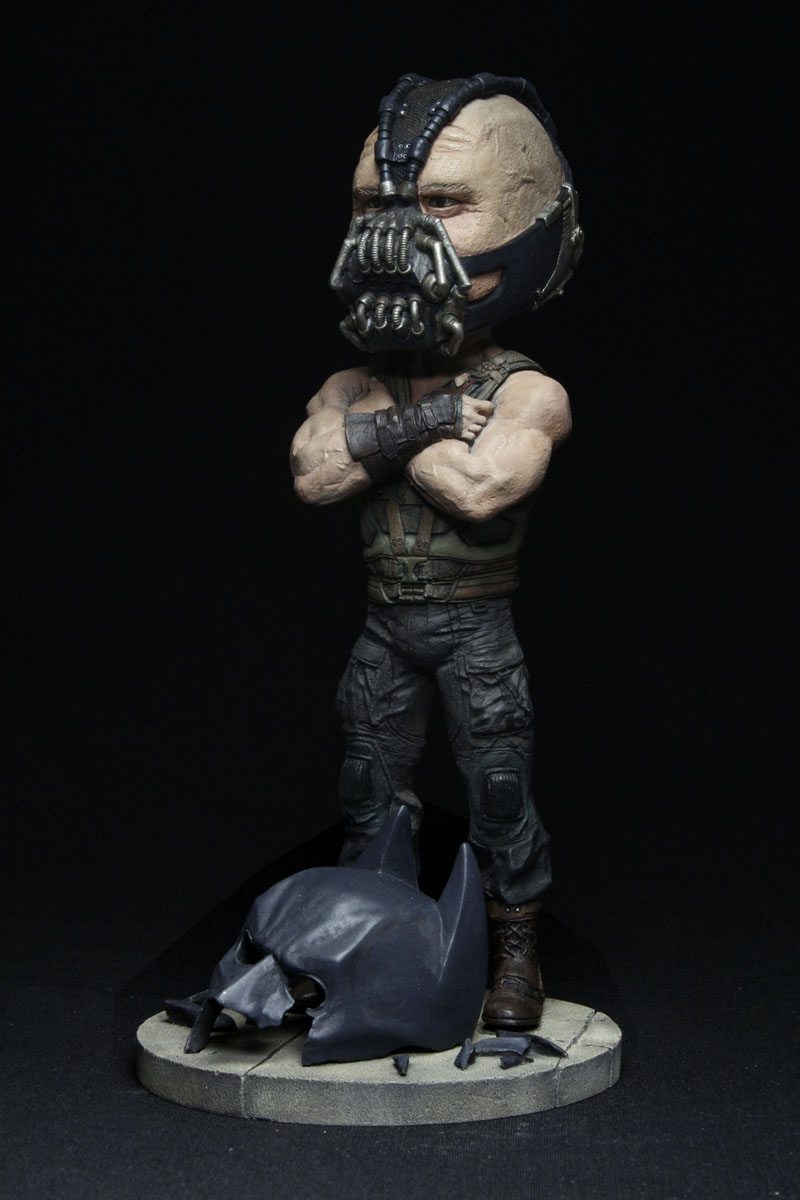 Dark Knight Rises Extreme Head Knocker Bane Discontinued