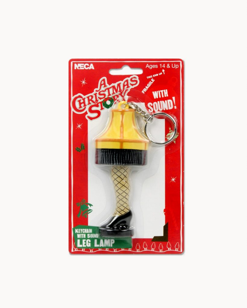 A Christmas Story Keychain With Sound Leg Lamp