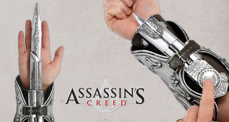 Assassins Creed Hidden Blade Ezio Auditore