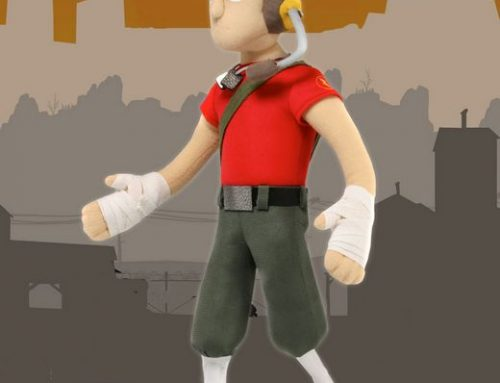 DISCONTINUED – Team Fortress 2 – 13″ Plush – Scout