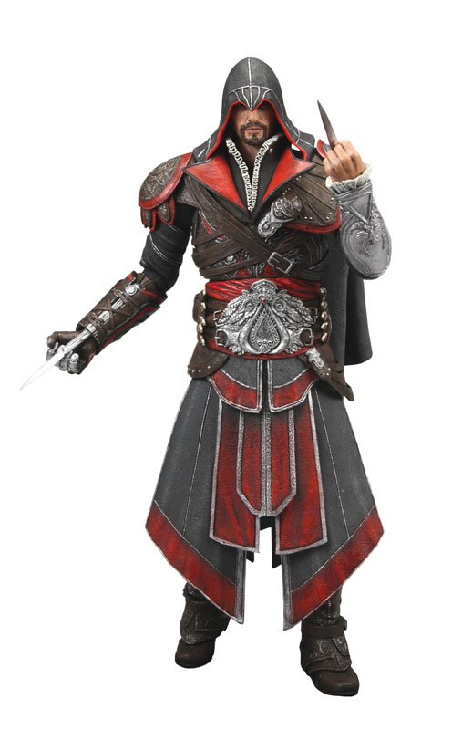 Assassin's Creed Brotherhood – 7″ Action Figure – Ezio ...