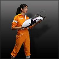 Portal 2 Chell Jumpsuit costume