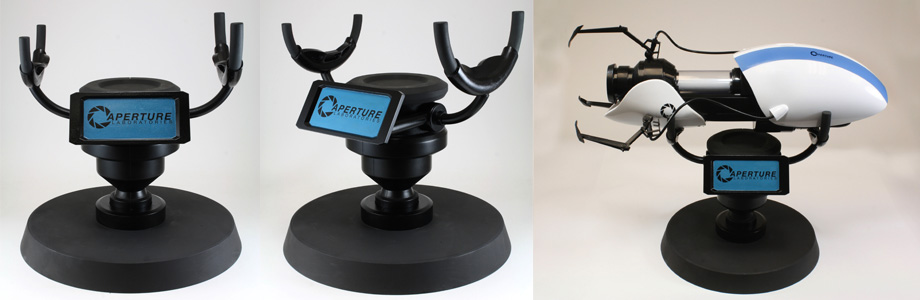 Aperture Science Portal Device Stand from NECA