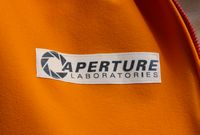 Portal Jumpsuit aperture-logo-chest