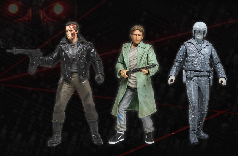Terminator Series 3 Action Figure Assortment