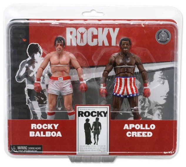 Rocky vs Apolo action figure 2-pack for Toys R Us