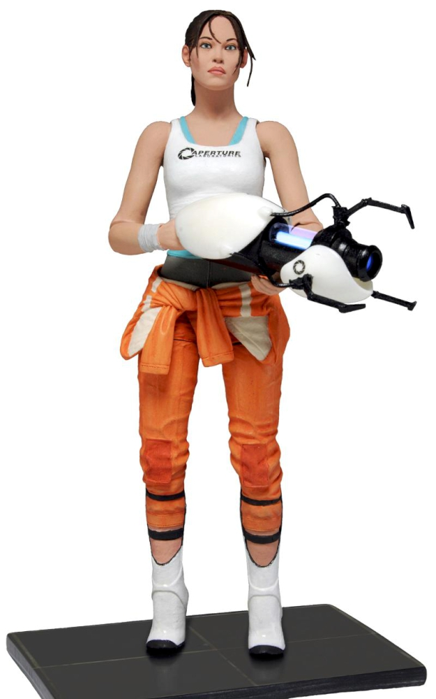 NECA 7&quot; Chell Action Figure - Portal