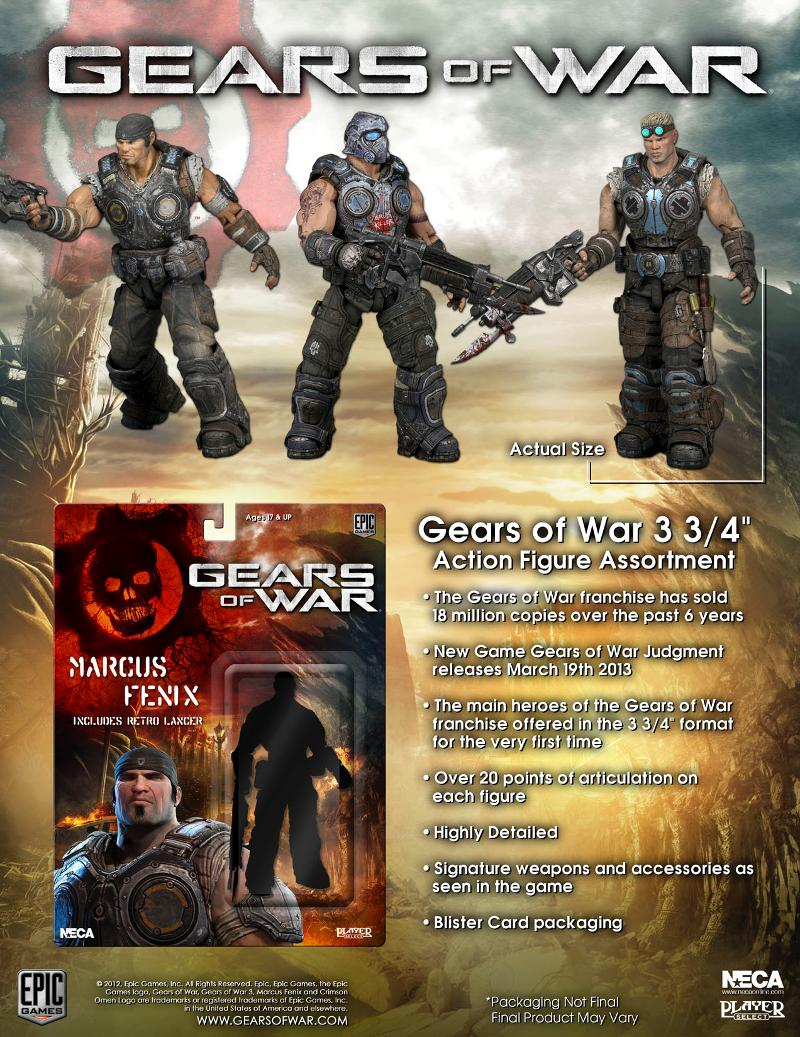 Gears of War – 3 3/4″ Scale Action Figure – Series 1