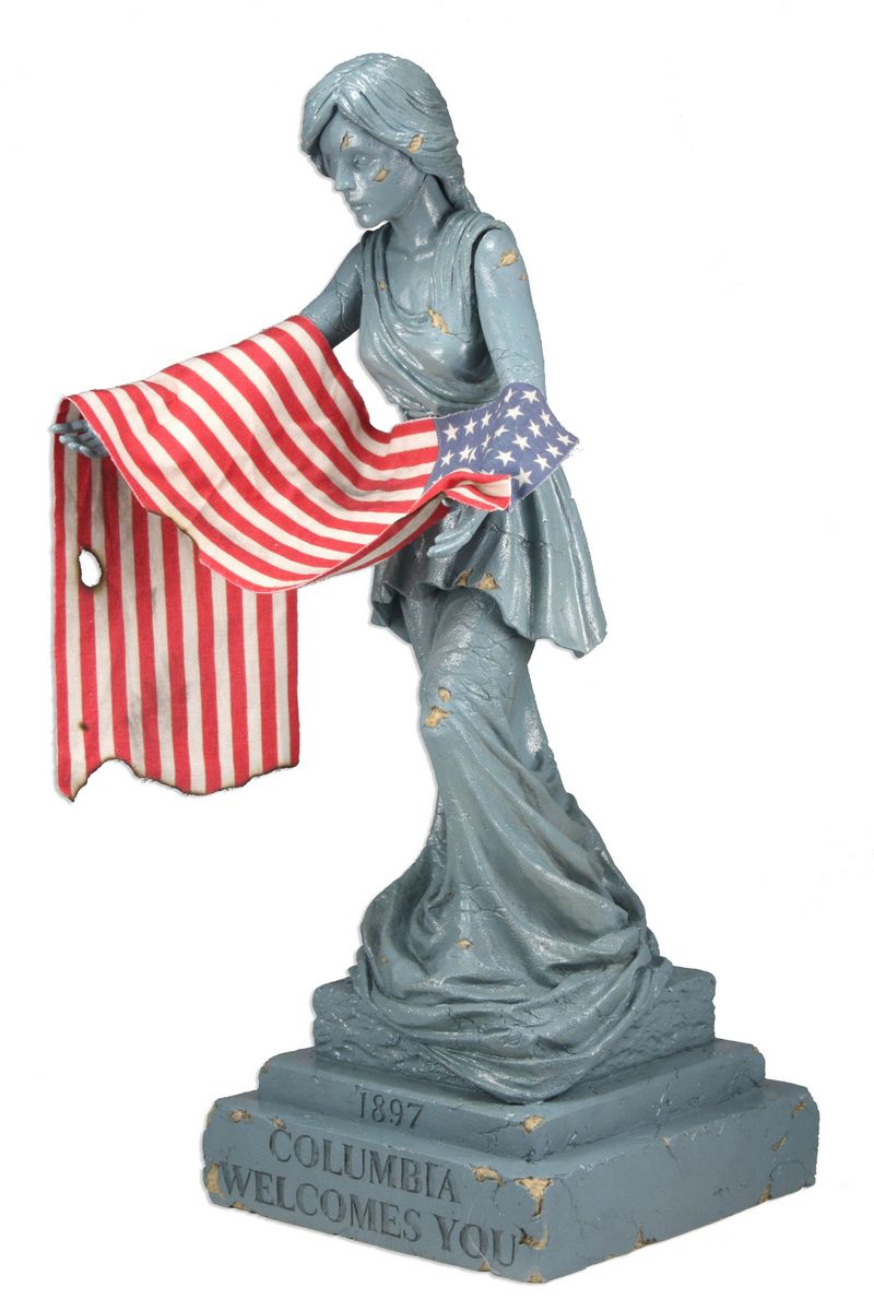 Bioshock Infinite Statue Columbia Statue Subject To