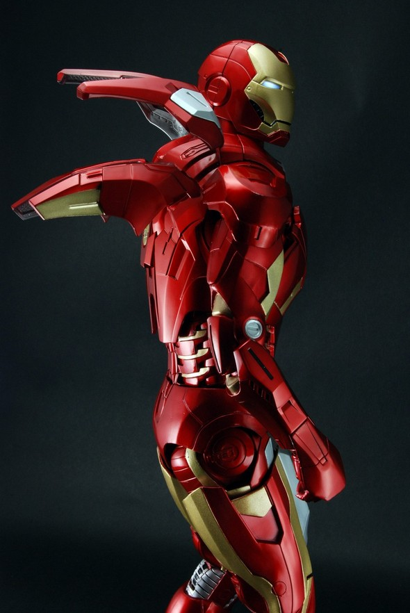 Avengers - 1/4th Scale Figure - Iron Man (Case 2