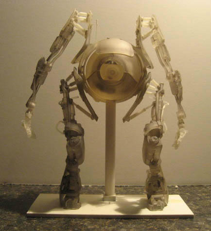 NECA Atlas Action Figure Prototype