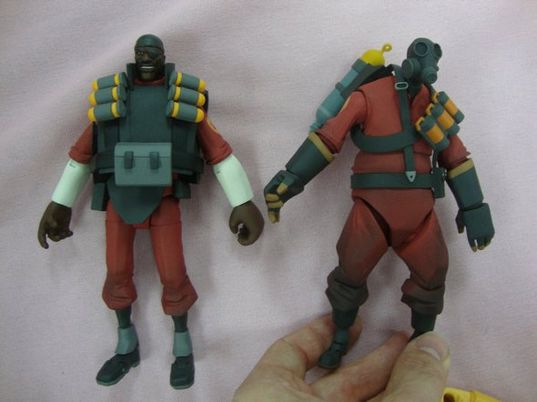 NECA Team Fortress 2 Action Figures
