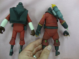 NECA Team Fortress Action Figures