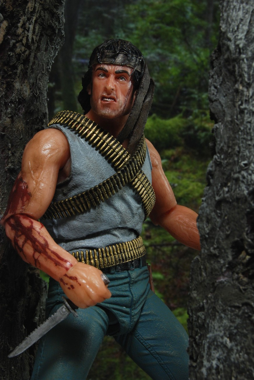 "Rambo - 7"" Action Figure - ""First Blood"" (Case 6"