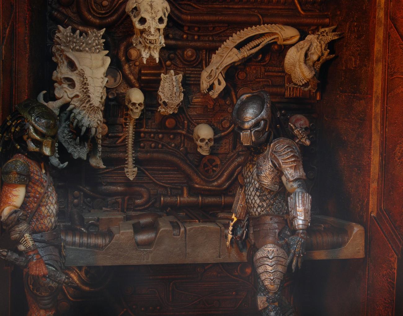 Predators 11 215 12 Trophy Wall Diorama Discontinued