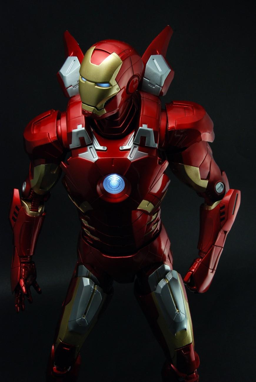 Avengers – 1/4th Scale Figure – Iron Man (Case 2