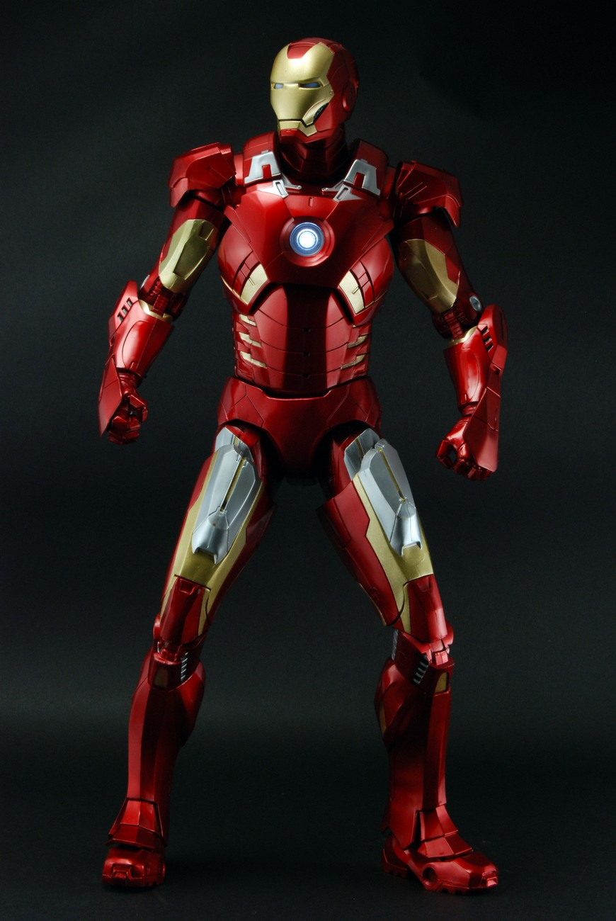 Avengers 1 4th scale figure iron man case 2 discontinued - Image de iron man ...