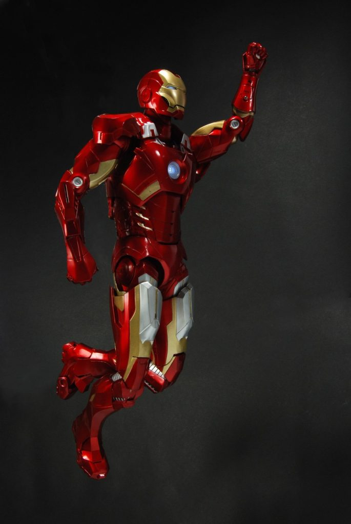 Exclusive Debut 18 Iron Man Action Figure