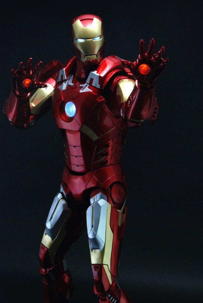 Exclusive Debut — 18″ Iron Man Action Figure