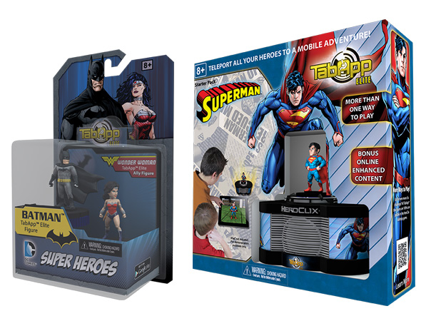 DC Comics TabApp Elite Packaging