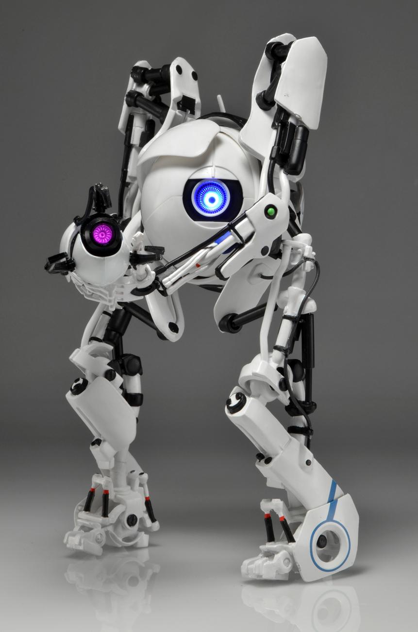 "Portal - 7"" Atlas Action Figure w/ LED Lights - NECAOnline ..."