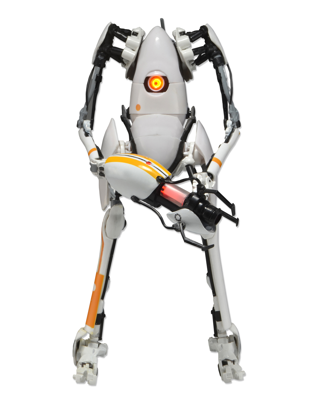 Portal 2 7 deluxe action figure p body w led lights for H portal