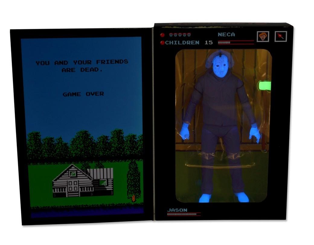 "[NECA] Jason Vorhees: NES ""Friday the 13th"" game SDCC 2013 Exclusive 39789-SNES-Jason-SDCC13-Pkg5"