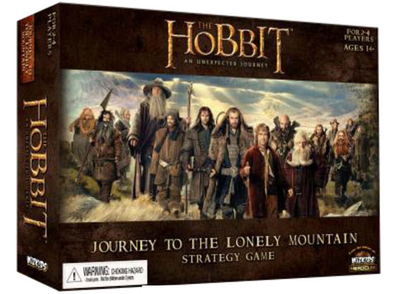 WizKids: The Hobbit Board Game: Journey to the Lonely Mountain (T.O.S.)