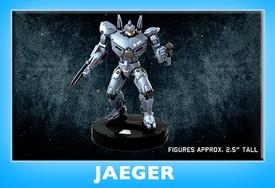 Pacific Rim HeroClix Jaegers