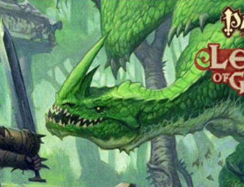 Pathfinder Battles: Legends of Golarion Gargantuan Green Dragon Promotional Figure