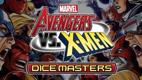 Marvel Dice Masters: Avengers vs. X-Men Dice Building Game