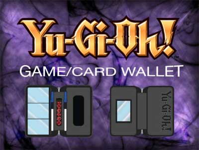 400w YGo Card Wallet purple banner