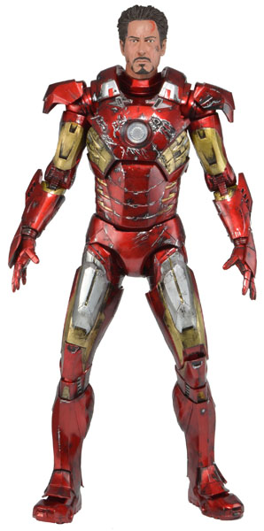 600h 61238_Quarter Scale Battle Damaged Ironman