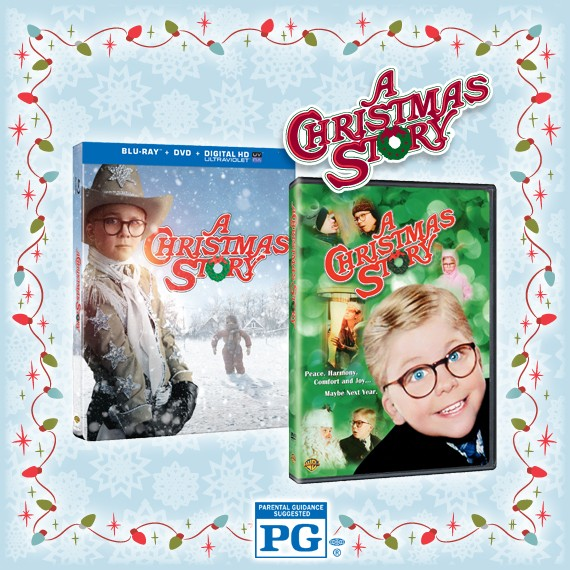 Enter for a Chance to Win A Christmas Story on Blu-ray™ Combo Pack or DVD!