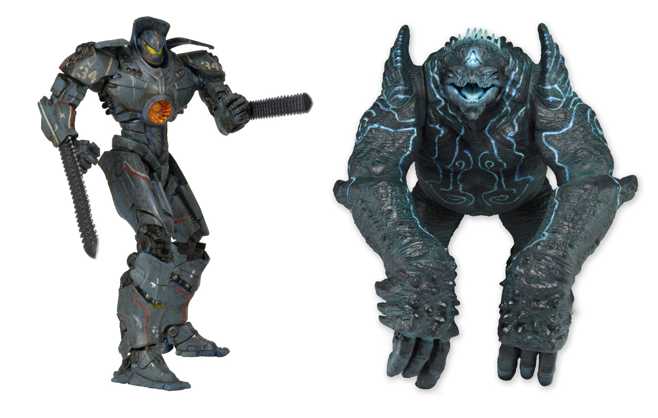 """Pacific Rim – 7"""" Action Figures – Battle-Damaged Gipsy ..."""