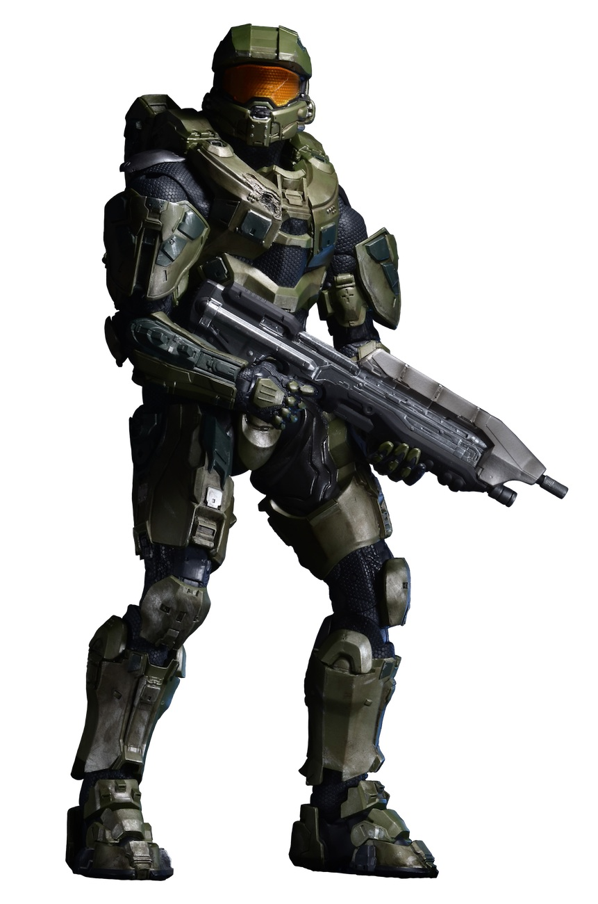 Shipping: Halo 18″ Scale Master Chief, Classic Planet of ...