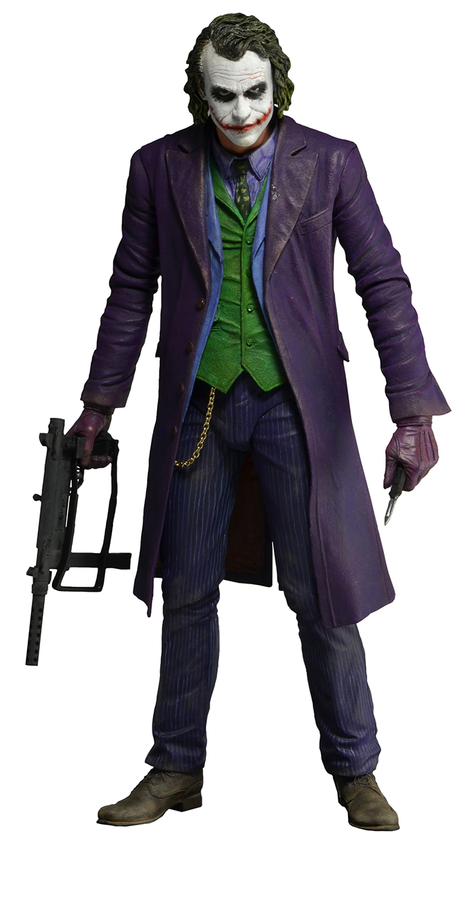 The Dark Knight The Joker 1/4 Scale Action Figure ...