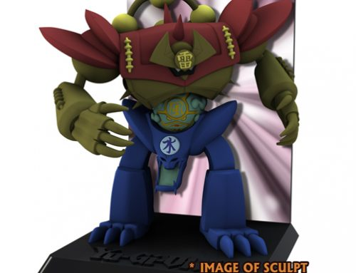 Yu-Gi-Oh! – 3 3/4″ Figure w/Deluxe Display – Series 2: Gate Guardian (Case 6) **DISCONTINUED**