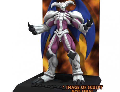 Yu-Gi-Oh! – 3 3/4″ Figure w/Deluxe Display – Series 2: Summoned Skull (Case 6) **DISCONTINUED**