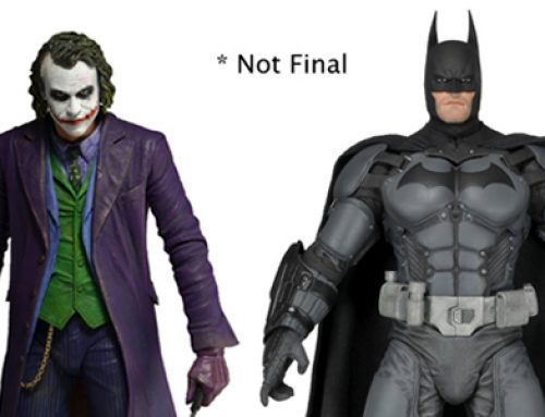 TOY FAIR 2014: New Arkham Origins Batman and Heath Ledger Joker 1/4 Scale Figures Revealed!