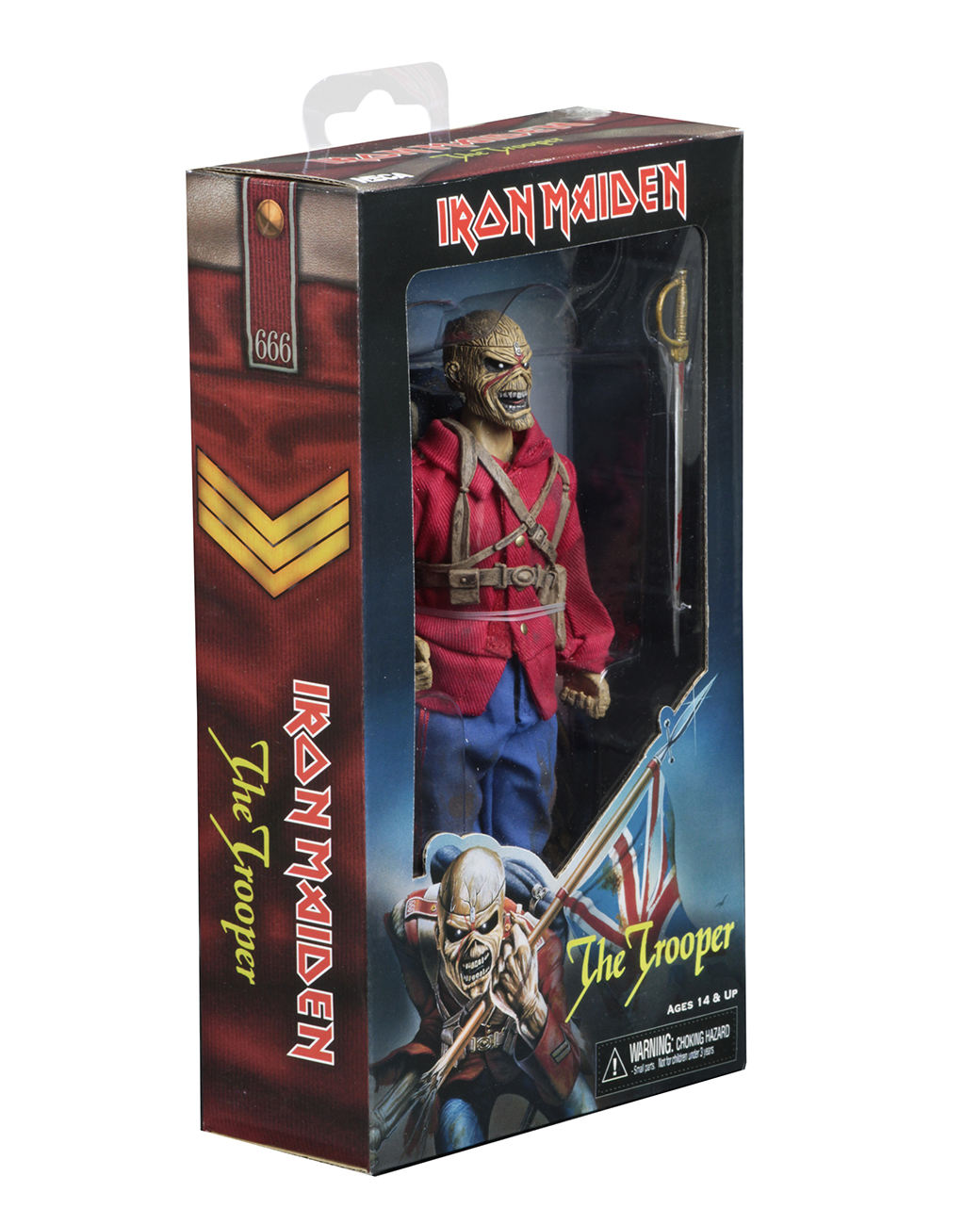cd21f23c Iron Maiden – 8″ Clothed Action Figure – The Trooper