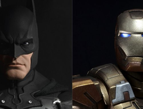 Shipping this Week: 1/4 Scale Arkham Origins Batman and Midas Armor Iron Man!